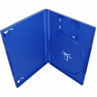 200 X Playstation Ps2 Blue Replacement Game Cases - Pack Of 200