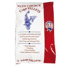 20kg pets choice koi carp pellets fish food for all for Alimento para carpas koi