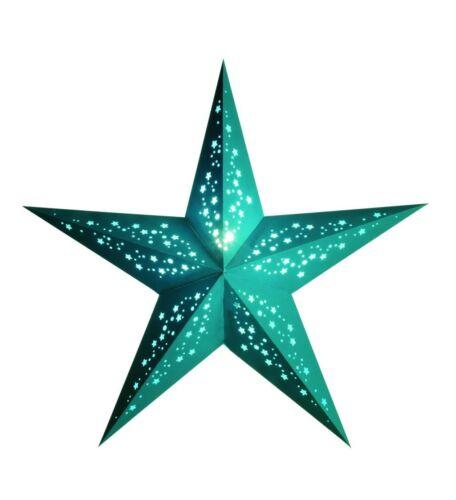 Papierstern Weihnachtsstern Stern Leuchtstern Faltstern starlightz Mia türkis