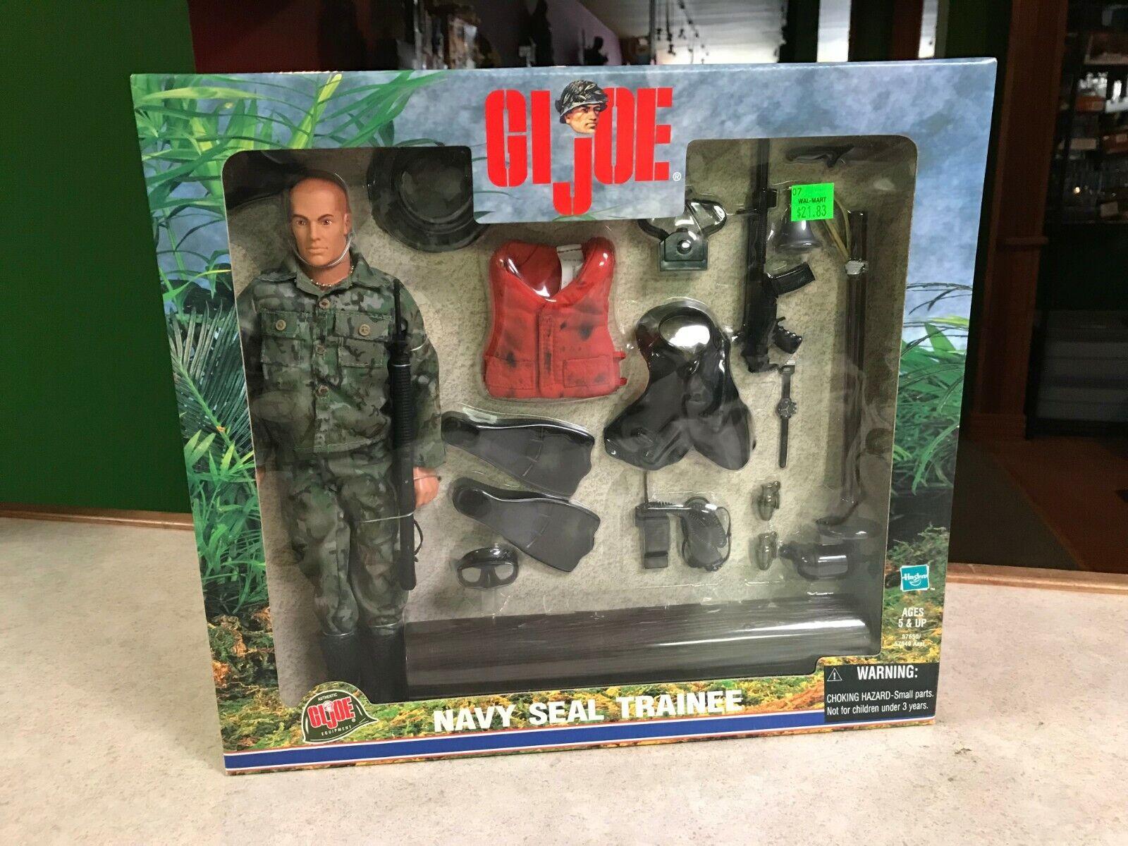 1999 Hasbro Gijoe Classic Navy Seal aprendiza figura de 12  Nuevo En Caja
