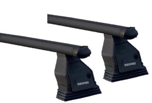 Dachbox VDPMAA320L+Dachträger Tema für Mercedes CKlasse W204 07-13 Stahl