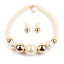 Fashion-Boho-Crystal-Pendant-Choker-Chain-Statement-Necklace-Earrings-Jewelry thumbnail 35