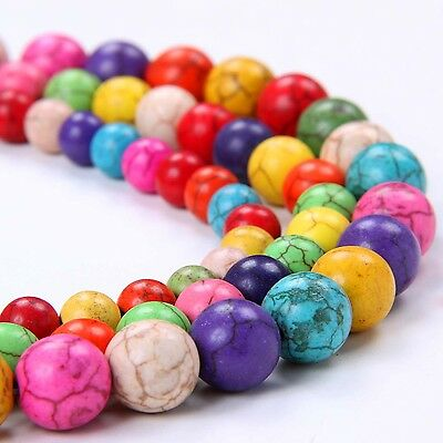Free Shipping! Fashion Colorful Turquoise  Beads fit Bracelet TR069