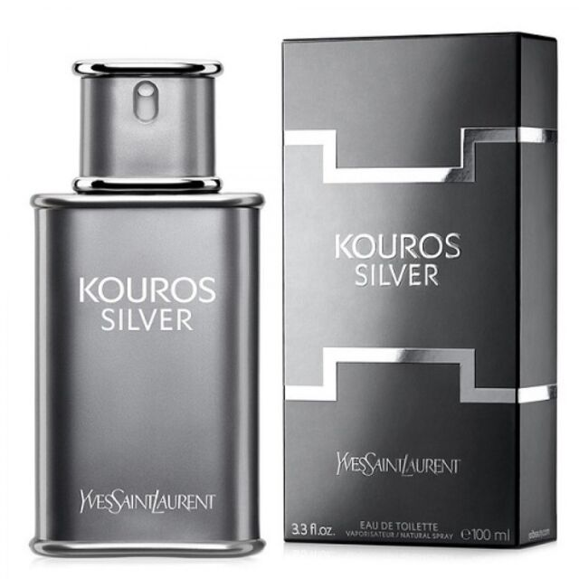 Yves Saint Laurent Kourous Silver 100 ML Men EDT Perfume