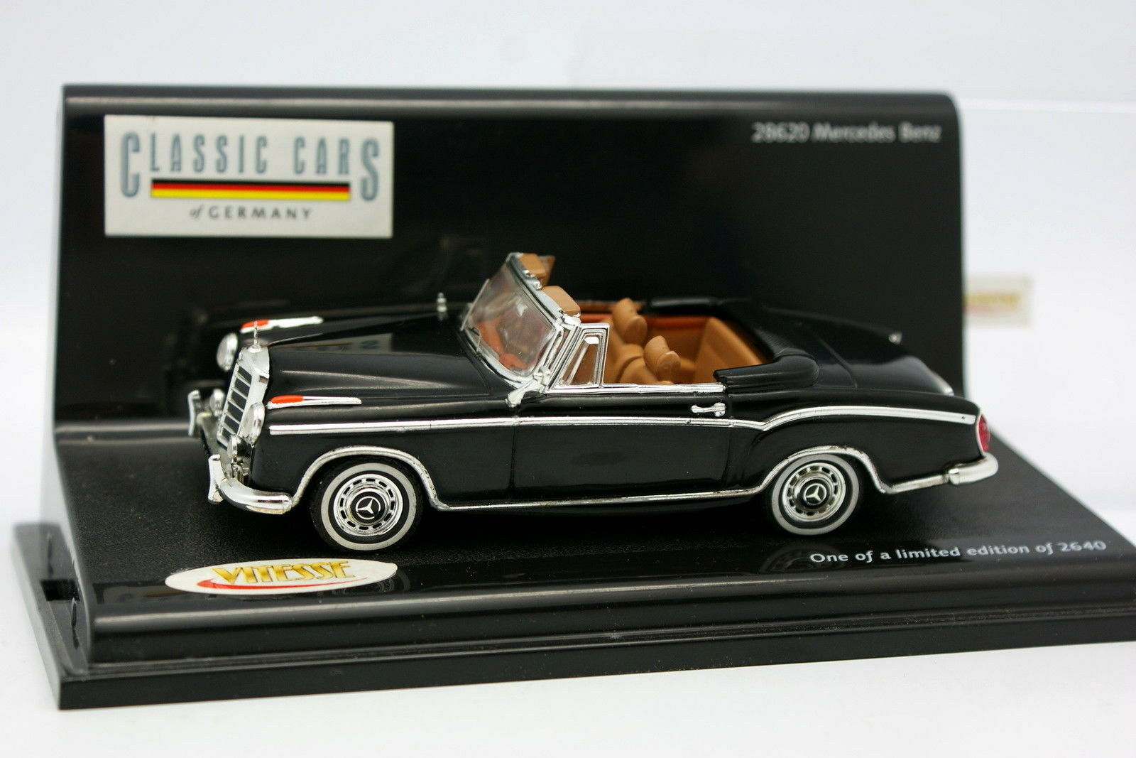 Vitesse 1 43 - Mercedes 220 SI black