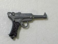 """NEW GI JOE GERMAN LUGER PISTOL FOR 12"""" ACTION FIGURE WEAPON ACCESSORY"""