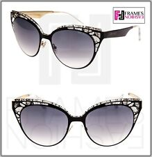 dd27a0a38ac7 item 3 JIMMY CHOO ESTELLE Black Crystal Lace Mirrored Cat Eye Sunglasses  ESTELLE S -JIMMY CHOO ESTELLE Black Crystal Lace Mirrored Cat Eye Sunglasses  ...
