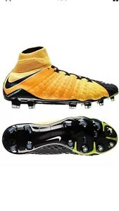 799757ccab41 Nike Hypervenom Phantom 3 DF FG Sz 9 Soccer Cleats Retail $300 Free ...