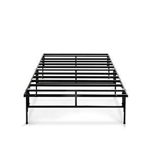 zinus 14 inch easy to assemble smartbase mattress foundation platform bed 841550071153 ebay. Black Bedroom Furniture Sets. Home Design Ideas