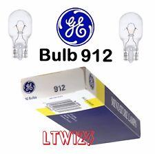 (10) GE Miniature Lamps Bulb 906 912 921