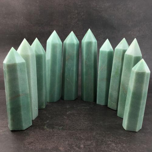 2.2LB Natural crystal quartz obelisk tower wand point reiki healing wholesale .