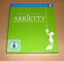 Blu Ray - Arrietty - Die wundersame Welt der Borger - Studio Ghibli - Neu OVP