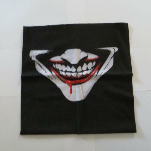 Joker Face Shield Mask Bandana Neck Scarf Headwear Face Tube Fishing Hunting