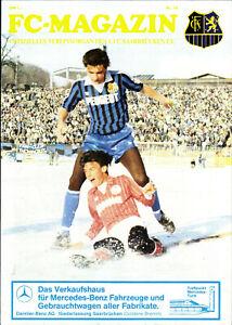 II-BL-84-85-1-FC-Saarbruecken-SC-Freiburg-30-03-1985