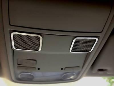Edelstahl pol D VW New Beetle Chrom Mittelkonsole Rahmen für 12V Steckdose
