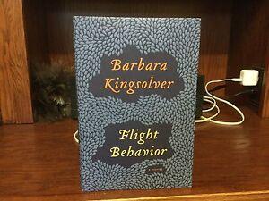 Flight-Behavior-Barbara-Kingsolver-1st-HC-Harper-2012-Fine-Unread