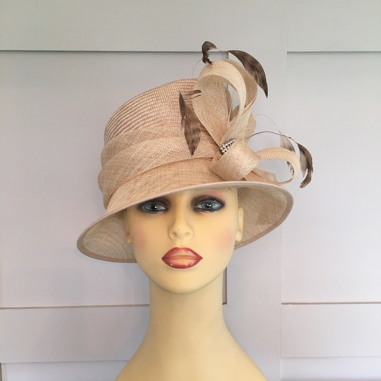 Wedding Hat Races Special Occasion Pale Gold By Failsworth Laura McClelland