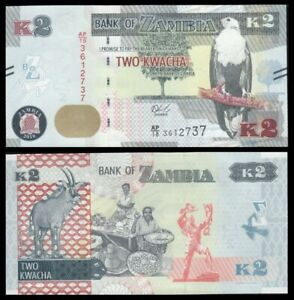 ZAMBIA-2-Kwacha-2018-SC-UNC