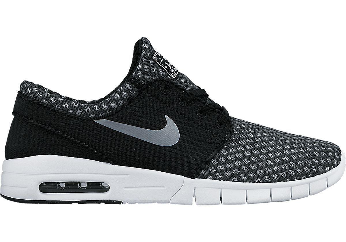 f55277b553f7 Nike Nike Nike STEFAN JANOSKI MAX Black Metallic Cool Grey 631303-004 (524)