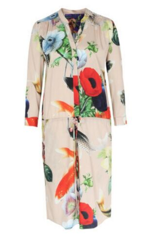 condizioni vestito ottime stretch 34 seta Multicolor di Anni Carlsson gr znTdz8