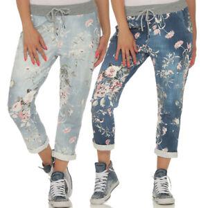 Jogginghose-Damen-Hose-Fitness-Sporthose-Stretch-Leggings-Pants-Sommer-29