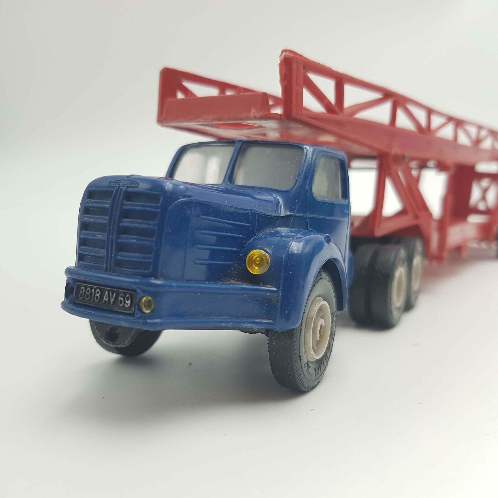Vinatge Norev Metallbaukasten TBO 15 Berliet & Transporteur De Autos (Nylon)