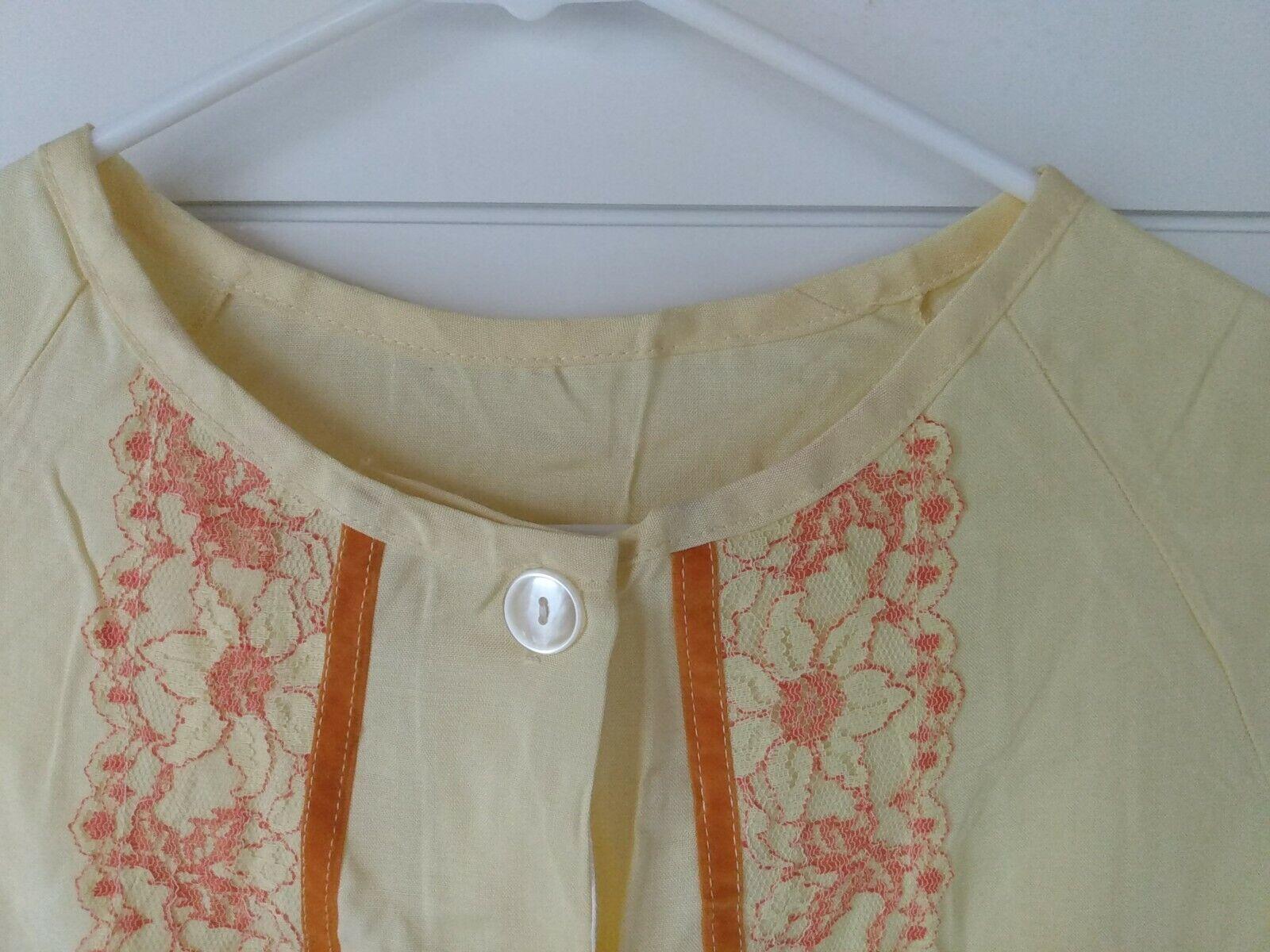 LOT OF 2 VINTAGE SMART TIME & ARCOLA HOUSE DRESS,… - image 9