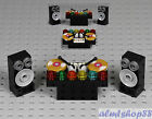 LEGO - DJ Deck w/ Speakers Turntable Vinyl Record Music Disco Minifig City Town