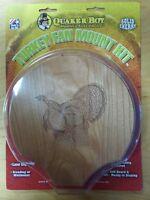 Quaker Boy Turkey Fan Tail Beard Mount Kit Laser Engraved Solid Cherry 80102