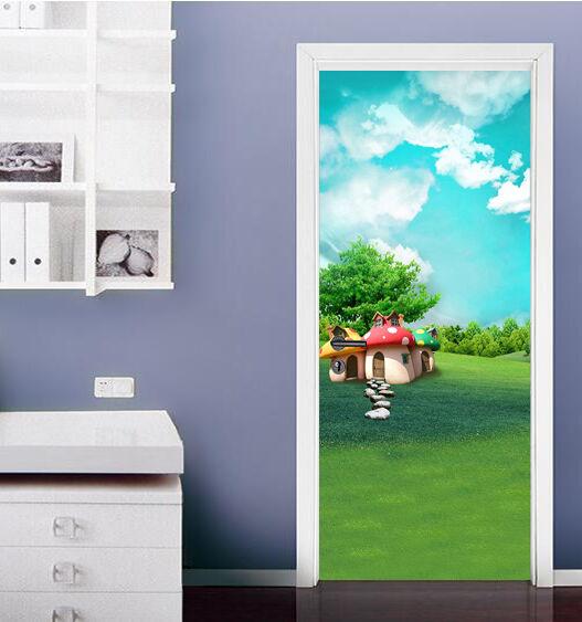 3D Karikatur 75 Tür Wandmalerei Wandaufkleber Aufkleber AJ WALLPAPER DE Kyra  | Bekannt für seine hervorragende Qualität  | Spielen Sie das Beste  | Haltbarer Service