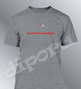 Tee shirt personnalise Camaro S M L XL XXL homme Z28 ss ZL1 muscle car