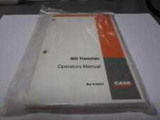 Case 460 Trencher Operators Manual