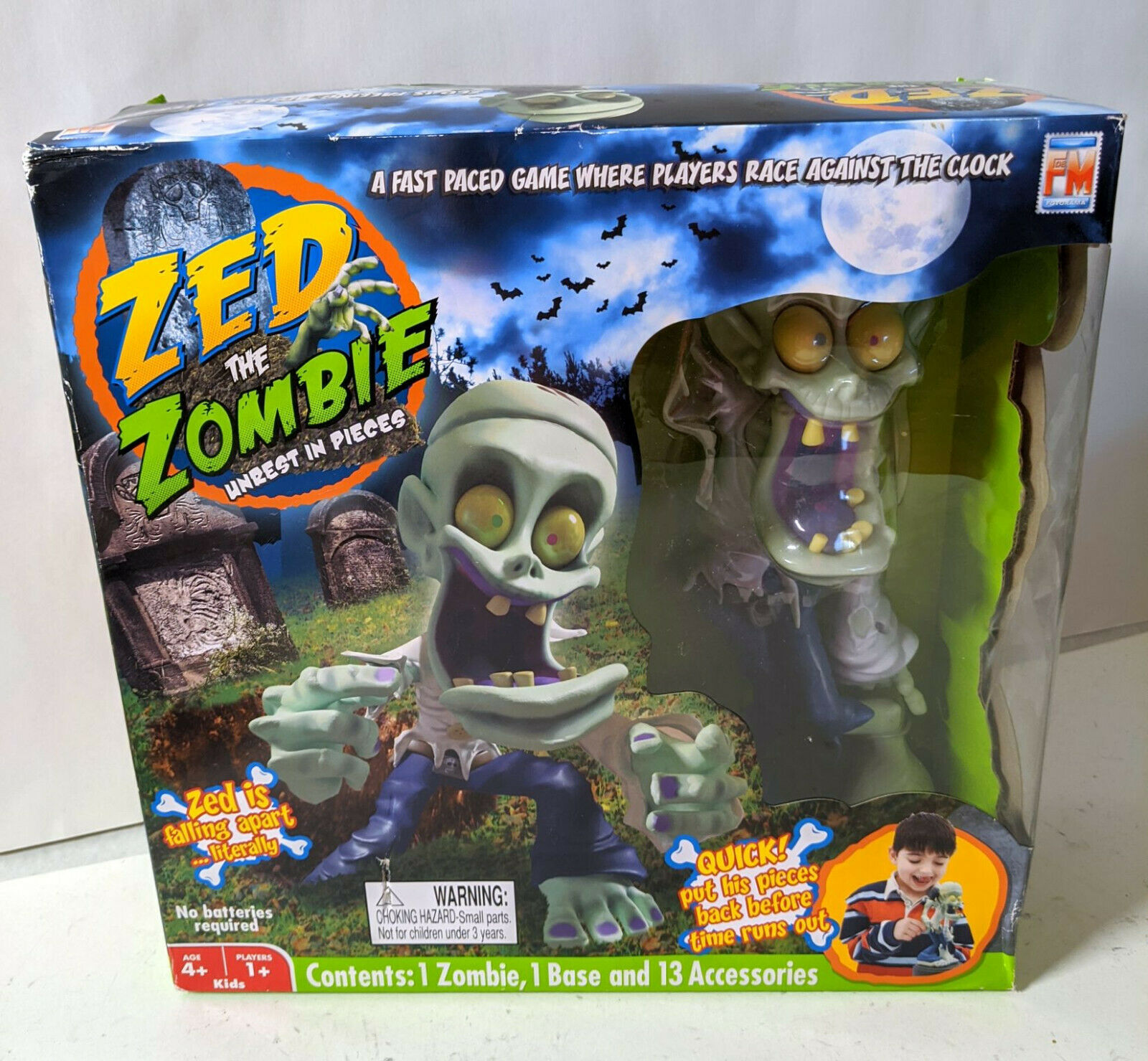 Fotorama Zed The Zombie Unrest In Peace Game Set For Sale Online
