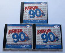 Mega 90s - 3 CDs Primal Scream Firehouse Europe Martika Pharao Star Wash Oasis