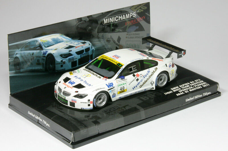 BMW Alpina b6 gt3 ADAC GT Masters 2011 Spengler 1 43 Minichamps 437112640 NEUF