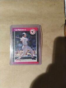 1989 Donruss Error Card Cal Ripken (No . After Inc)