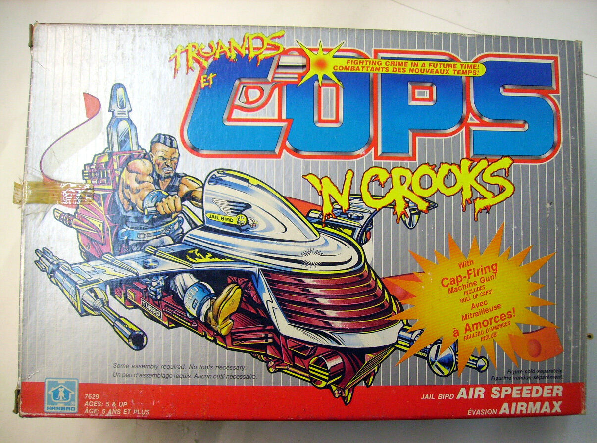 Mobsters and psc -'n crooks-jail bird air speeder-hasbro  nouveau  haute qualité