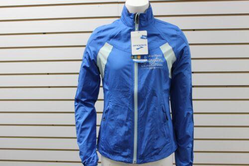 Brooks Woman/'s Rock And Roll Lexington Official Race Jacket Neptune//Seafoam