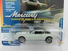 2017 Johnny Lightning *CLASSIC GOLD 1B* DIAMOND BLUE 1968 Mercury Cougar XR7 NIP