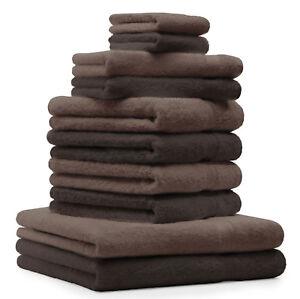 Betz 10er Handtuch Set PREMIUM Duschtuch Handtücher  Gästetücher Waschhandschuhe