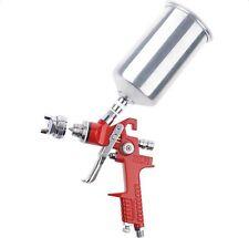 1.4mm HVLP Gravity Feed SPRAY GUN Kit w/Regulator Auto Paint Primer Metal Flake