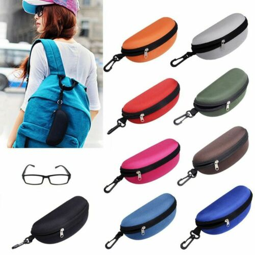 Glasses Case Portatives Zipper Hard Case Protector Sunglasses Case Eyewear Box