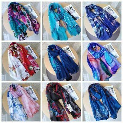 Fashion Women Lady Long Scarf Cotton Chiffon Bali Yarn Scarves Shawl Wrap Stole