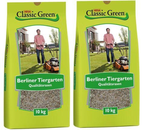 Classic Green Rasen Berliner Tiergarten 2 x 10 kg Rasensamen