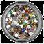 6mm-Rhinestone-Gem-20-Colors-Flatback-Nail-Art-Crystal-Resin-Bead thumbnail 15