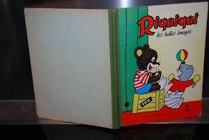 Bd Riquiqui Relie N°31/32/33/34/35/36 Octobre 1954 Style à La Mode;