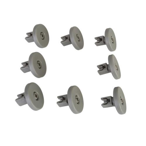 Pour aeg tricity bendix electrolux zanussi lave-vaisselle inférieur panier roues x 8