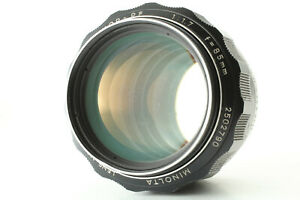 EX-Minolta-MC-Rokkor-PF-85mm-f-1-7-Portrait-MF-LENS-Filmkamera-FR-Japan-a130