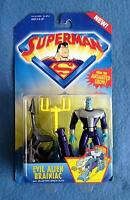 Evil Alien Brainiac With Blasting Space Shed Superman 5 Inch Figure Kenner 1996