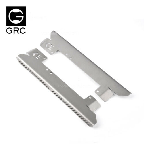 GRC Stainless Steel Both sides Chassis Protection For 1//10 Axial SCX10 II UMG10